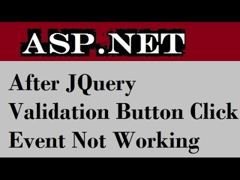After JQuery validation button click event not working