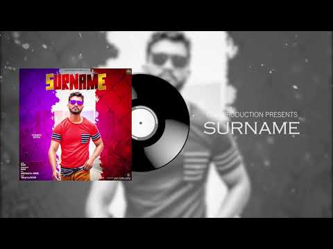 SURNAME (OFFICIAL AUDIO) GGG || LATEST PUNJABI SONG 2020|| GGG PRODUCTION