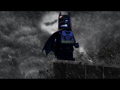 Justice League Movie LEGO (Batmans Turf) Clip 1