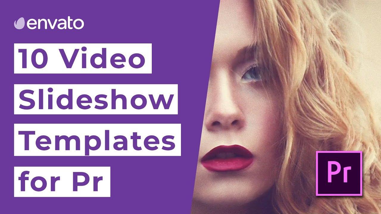 10 Video Slideshow Templates for Premiere Pro [2019]