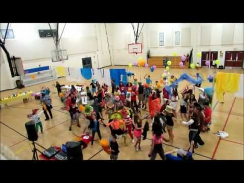 Middle School Harlem Shake at Queen of Peace Catholic Academy