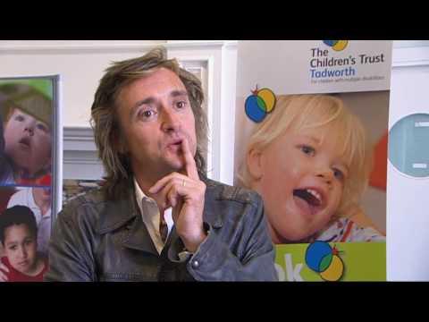 Richard Hammond opens The Children's Trust's new rehabilitation centre