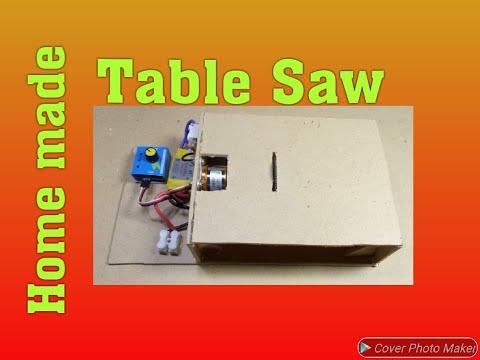 Diy Home Made Mini Table Saw