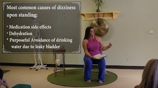 Do you Get Dizzy when you Stand? Manage Dizziness with Dr. Kimberley Bell, DPT
