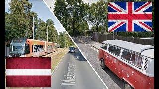 Лондон - Рига. Уонстед - Межапарк. Великобритания - Латвия. Latvija - UK