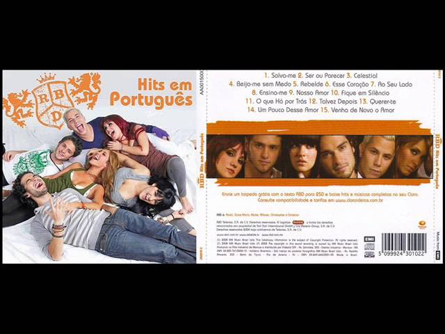 5 Rebelde - Hits em Português (CD RBD) Travel Video
