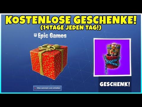 KOSTENLOSE GESCHENKE von EPIC GAMES! 14 Tage lang Belohnungen, Events & Mehr! (Alle Infos) Fortnite