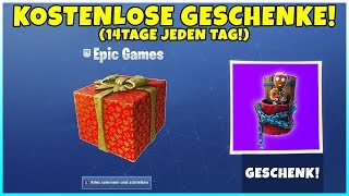 FREE GIFTS from EPIC GAMES! 14 days of rewards, events & more! (All info) Fortnite