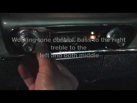 1959 1960 Chevy AM FM IPOD In Factory radio