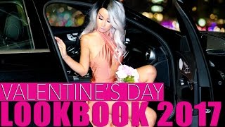 Valentine's Day Lookbook 2017 || GLAMBOOK || Lisa Opie