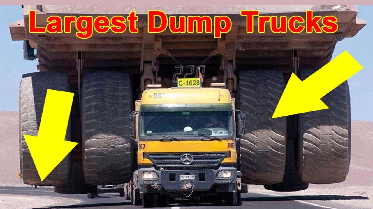 Biggest Truck In The World >> Top 10 Largest Dump Trucks In The World 2017 2018 Youtube