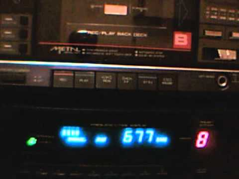 Free Libya Radio Benghazi 675 KHz received in Hungary  Part 2. راديو بنغازي