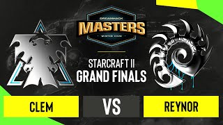 SC2 - Clem vs. Reynor - DH Masters: Winter 2020 - Grand Finals - EU