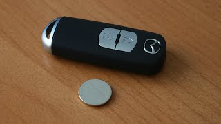 Mazda Remote Key - Battery Replacement