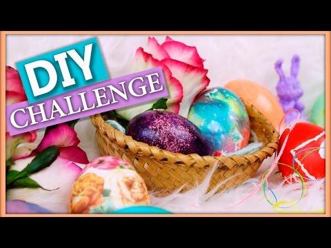 DIY Челлендж Чьи яички круче?! (Как покрасить яйца на пасху)