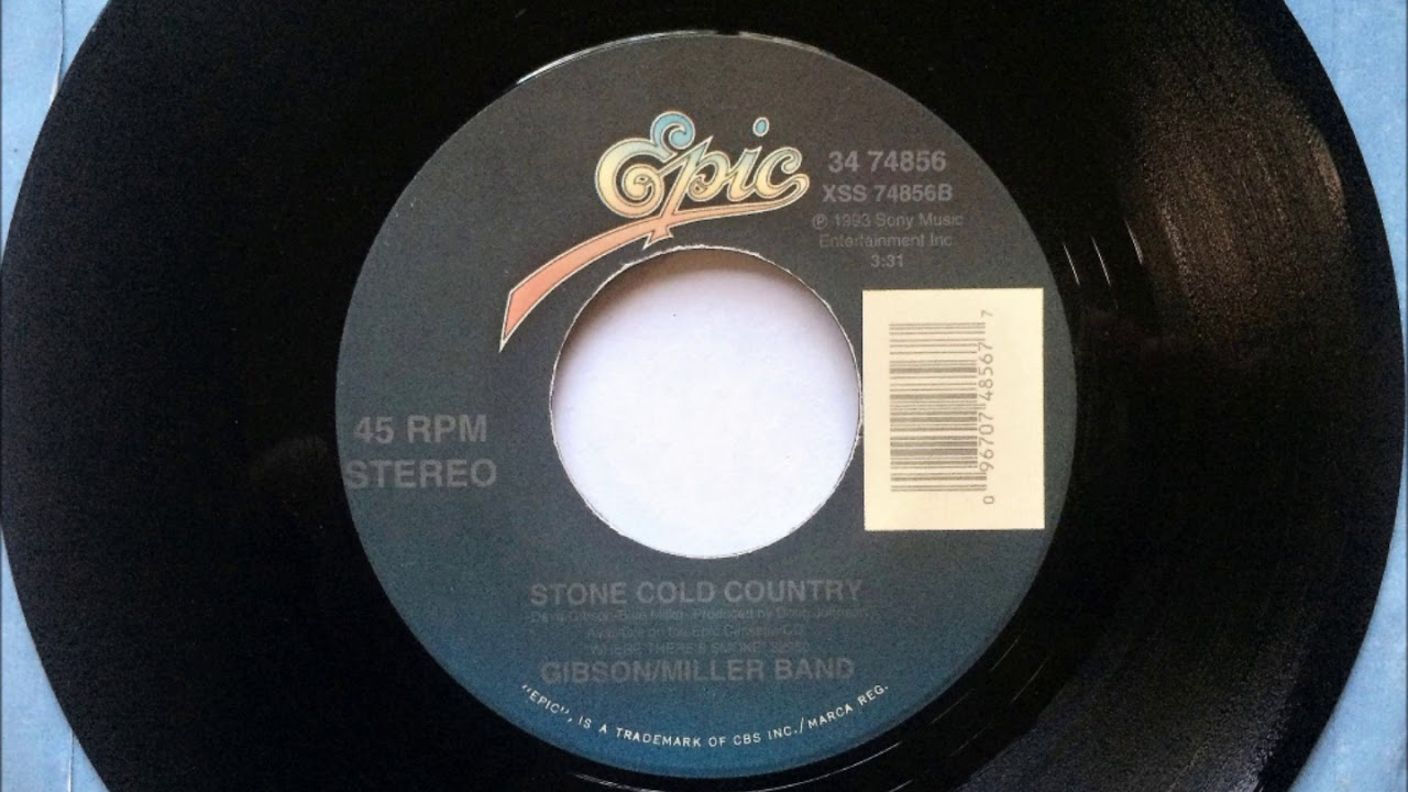 Stone Cold Country  Gibson Miller Band  1994 & Stone Cold Country  Gibson Miller Band  1994 - YouTube