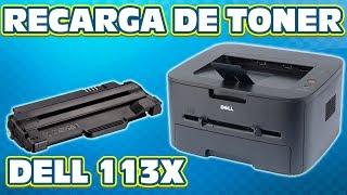 RECARGA REFILL DEL CARTUCHO DE TONER DELL 113X