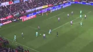 Sporting Gijon vs Barcelona 1 1   Full Match Highlights   Goals   Extended Highlights   12 2 20111