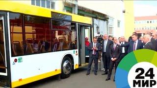 Беларусь поставит в Грузию автобусы