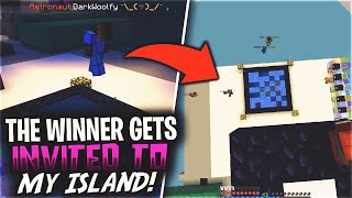 How to play with MeeZoid, COMPETE TO JOIN MY ISLAND | Minecraft Skyblock