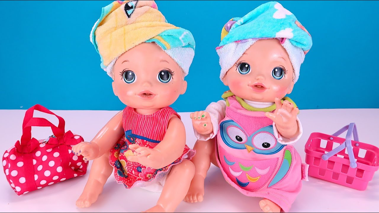 Девочки Потеряли Панамки, Что Придумала Мама? Мультик Как Мама Играет в Куклы Беби Бон 108мама тв