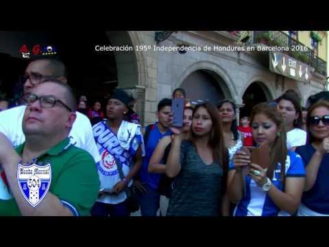 Banda Marcial 504 - Independencia de Honduras en Barcelona 2016