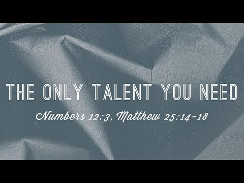 The Only Talent You Need – Pastor Joel Urshan (Full Sermon)