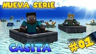 Minecraft PC | Buscando casita | NUEVA SERIE | Episodio 1 | HD | luigi2498