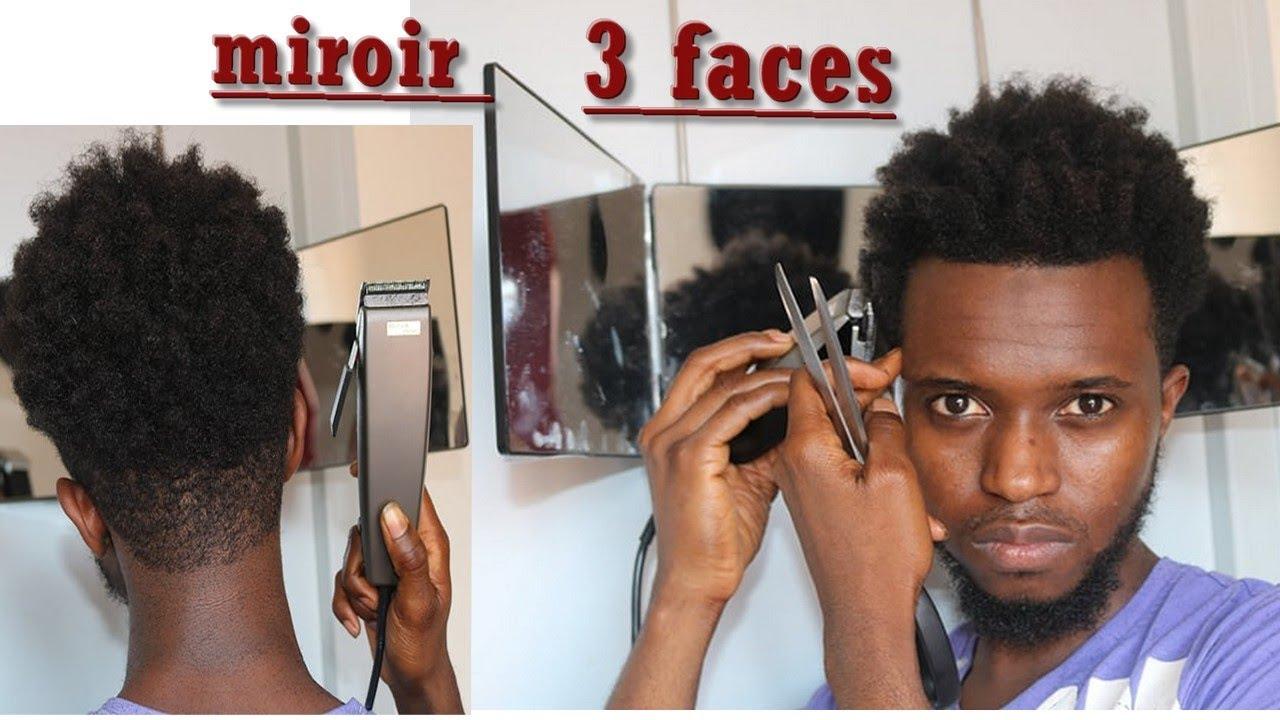 Comment Couper Ses Cheveux Tout Seul Avec Un Miroir Trois Faces