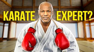How Mike Tyson Uses KARATE