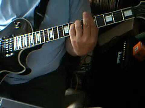 Lullaby of Birdland Chords_Slow version_Guitar Chords Shown_Epiphone ...