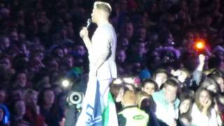 Westlife - Goodbye speeches - Kian/Nicky/Mark - Last ever concert Croke Park 23.06.2012