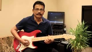 Uravugal Thodarkathai song Guitar Instrumental by  Nada Jeyadevan
