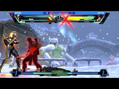 Brunei Times Square UMVC3 - Arman [Nova/Akuma/Magneto] Vs Sufyan [Deadpool/Sentinel/Hawkeye]