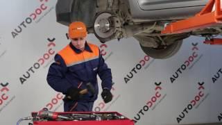 Kuinka korvata Kallistuksenvakaajan yhdystanko VW TOURAN (1T1, 1T2) - opetusvideo