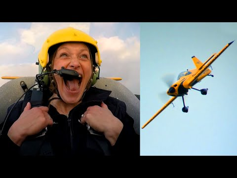 Vicki Butler In A Stunt Plane! - Fifth Gear
