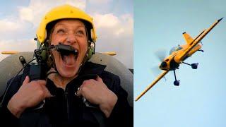 Vicki Butler In A Stunt Plane! - Fifth Gear
