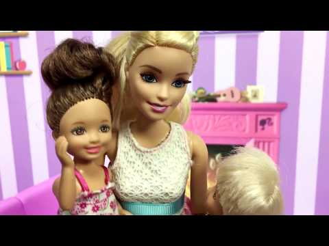 Barbie ve Ailesi Bölüm 111 - Can'a Elektrik Çarptı! - Çizgi film tadında Barbie oyunları