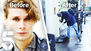 Homeless Life of a Billionaire's Son | Rich Kids Go Homeless | Channel 5