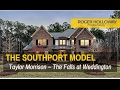 SOUTHPORT Model Home Tour The Falls at Weddington NC