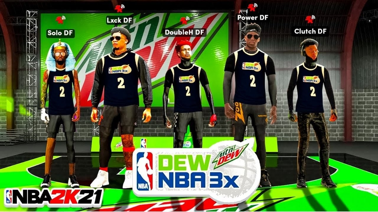 FIRST EVER DF MOUNTAIN DEW ROYALE EVENT! Which DF MEMBER can WIN w/ RANDOMS in MTN DEW on NBA2K21?