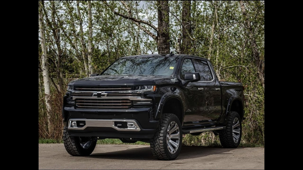 2019 Custom Lifted Chevrolet Silverado 1500 High Country ...