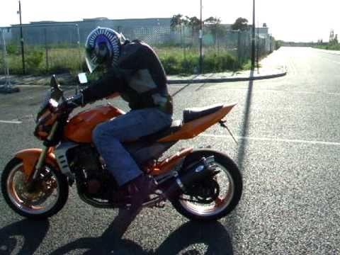 kawasaki z 1000 2003 bluflame exhaust - youtube