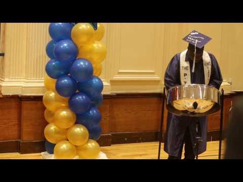 Star Bangled Banner - Steel Pan-P-TECH Graduation-Nicholas Steele