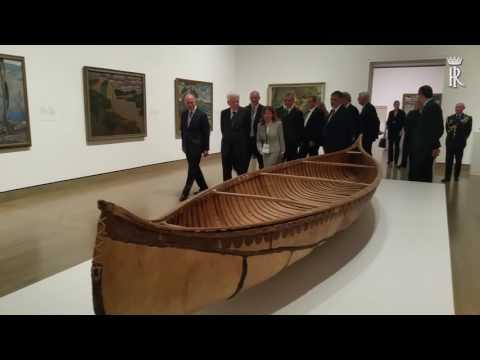 Ottawa - Mattarella visita la National Gallery of Canada