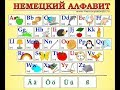 алфавит немецкий алфавит