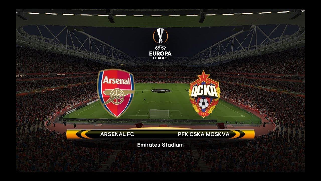 Arsenal Vs Cska Moscow  Uefa Europa League   Quarter Final
