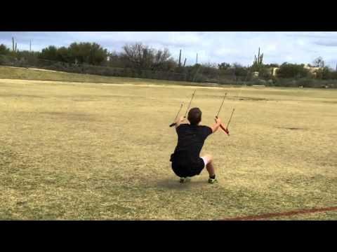 Kite Fails. Power Kite Drags 150lb man across football field