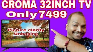 Croma 32 inch HD Ready tv CREL7316