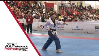 Junior Individual Female Final | Chieh-ren HSIAO (TPE) vs Da-sol KIM (KOR)